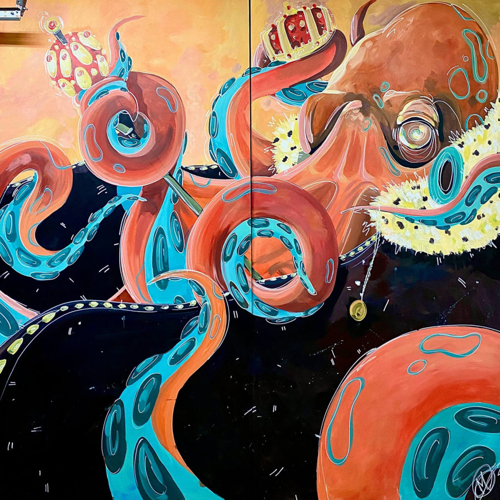"""King Octopus"" by Maya Sorvalo"