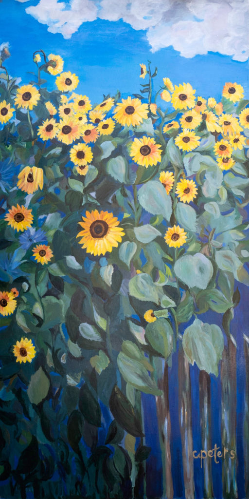 """""""Sunflowers"""" by Cindy Peters"""