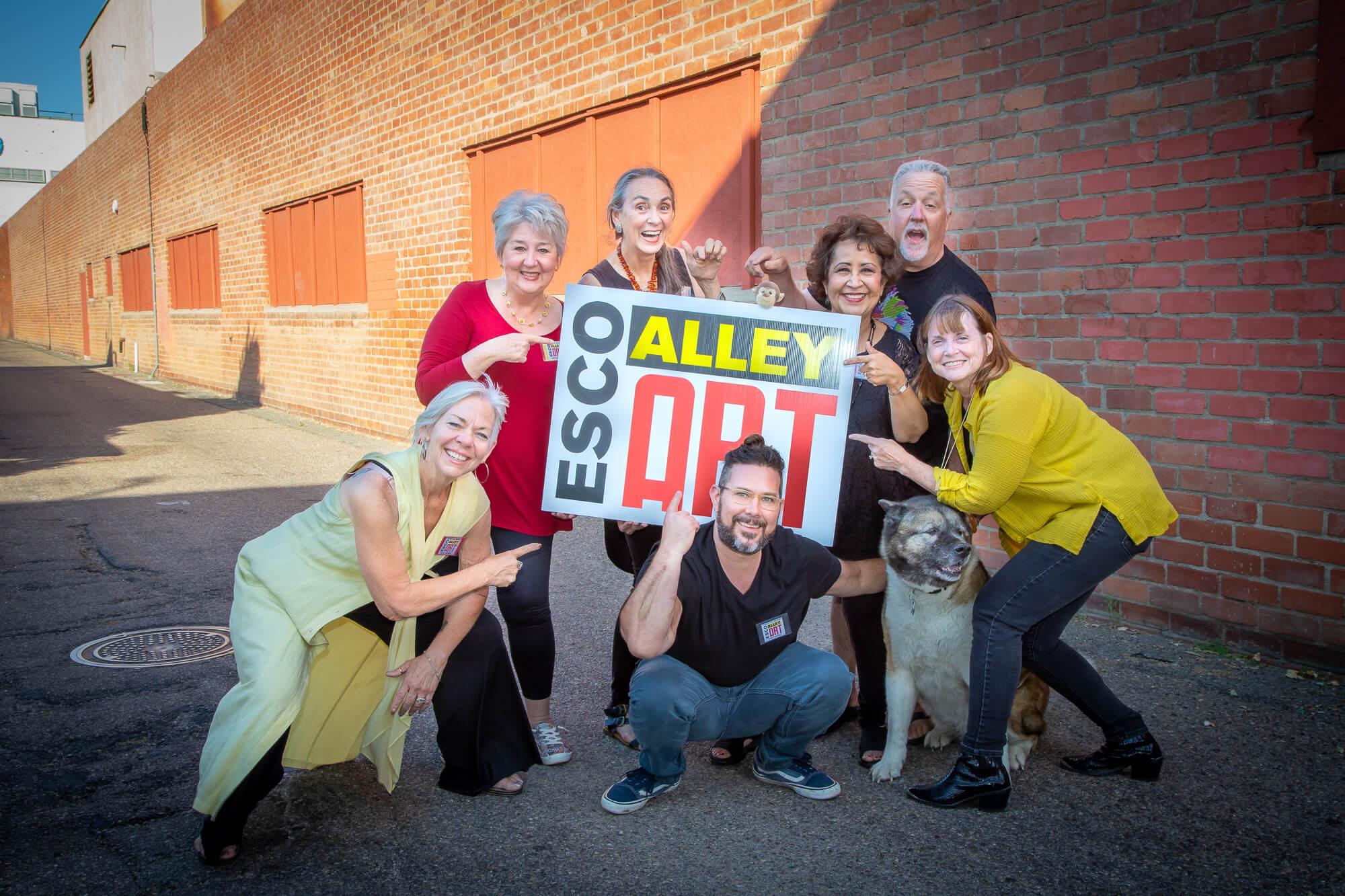 Esco Alley Art Committee & Friends